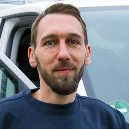 Ralf Klöppel: Kundendienstmonteur